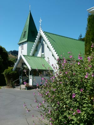 St patrick's Akaroa Church